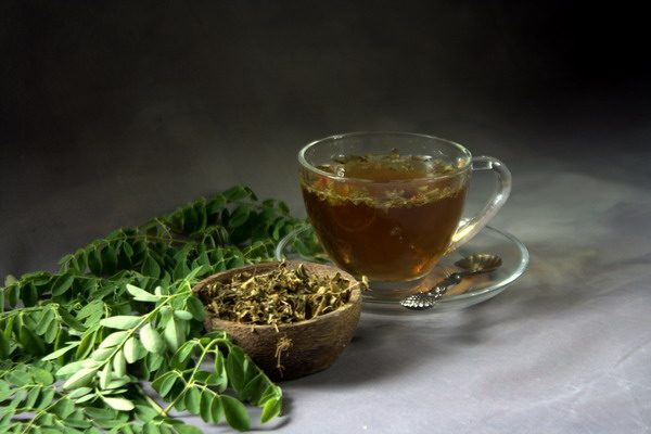 teh daun kelor