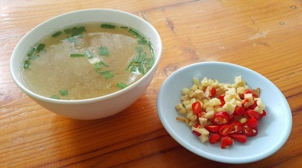 Sup diet Jahe dan Jeruk nipis