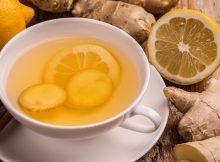 teh jahe dan jeruk nipis
